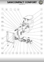Exploded drawings - MACERATORS-COMPACTS_PUMPS1024_12